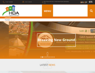 thehda.co.za screenshot