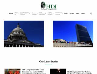thehdi.org screenshot