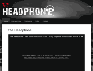 theheadphone.in screenshot