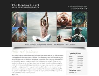 thehealingheart.com.au screenshot
