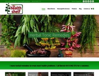 thehealthshelf.com.au screenshot