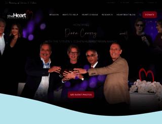 theheartfoundation.org screenshot