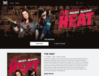 theheatmovie.com screenshot