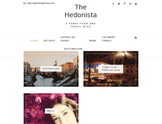 thehedonista.com screenshot