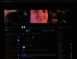 theheroes.guildwork.com screenshot