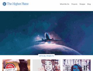 thehigherplane.net screenshot
