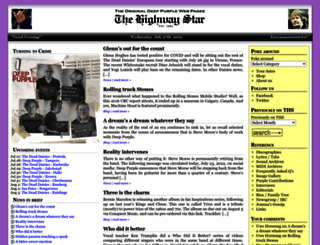 thehighwaystar.com screenshot