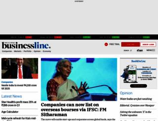 thehindubusinessline.com screenshot