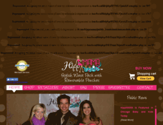 thehippmama.com screenshot