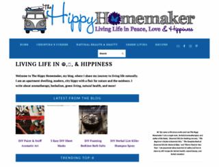 thehippyhomemaker.com screenshot