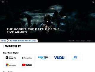 thehobbit.net screenshot