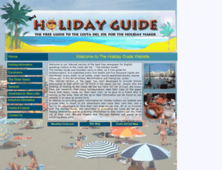 theholidayguide.net screenshot