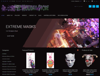 theholidaystore.com screenshot