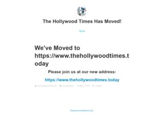 thehollywoodtimes.net screenshot