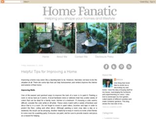 thehomefanatic.com screenshot