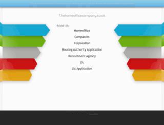 thehomeofficecompany.co.uk screenshot