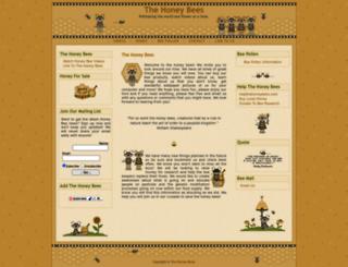 thehoneybees.com screenshot