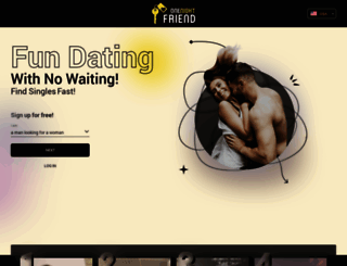 thehookupdinner.co.za screenshot