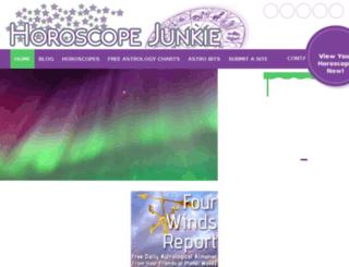 thehoroscopejunkie.webcentre.ca screenshot