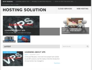 thehostingsolution.info screenshot