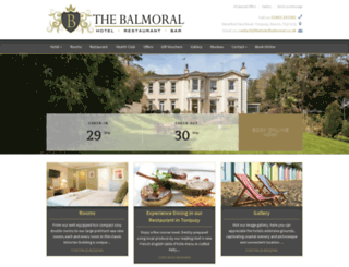 thehotelbalmoral.co.uk screenshot