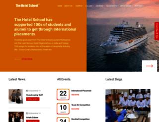 thehotelschool.com screenshot