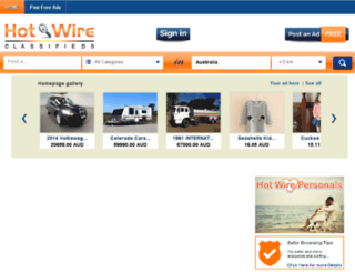 thehotwire.org screenshot