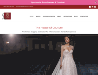 thehouseofcouture.com screenshot