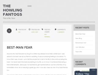 thehowlingfantogs.wordpress.com screenshot