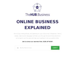 thehub.business screenshot
