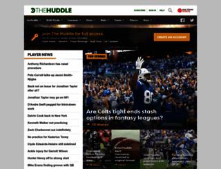 thehuddle.com screenshot