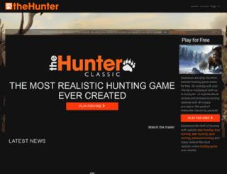 thehunter.com screenshot