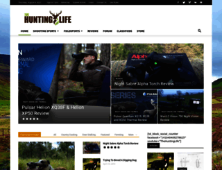 thehuntinglife.com screenshot