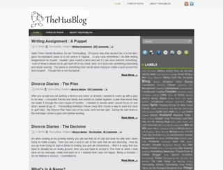 thehusblog.com screenshot