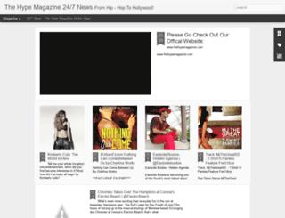 thehypemagazine.blogspot.com screenshot