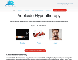 thehypnocoach.org screenshot