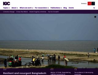 theigc.org screenshot