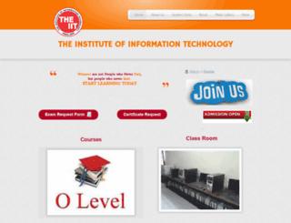 theiit.webs.com screenshot