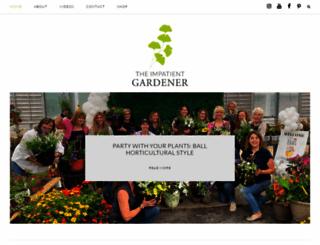 theimpatientgardener.com screenshot
