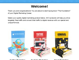 theincomesecret.org screenshot