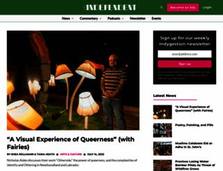 theindependent.ca screenshot