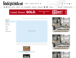 theindependent.mycapture.com screenshot