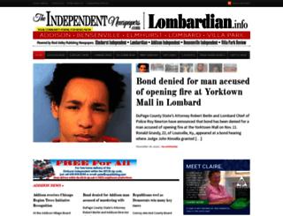 theindependentnewspapers.com screenshot
