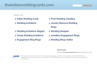 theindianweddingcards.com screenshot