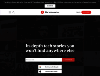 theinformation.com screenshot
