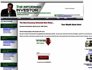 theinformedinvestor.com screenshot