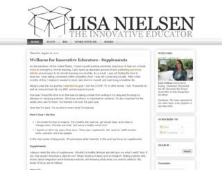 theinnovativeeducator.blogspot.ca screenshot