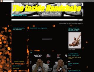 theinsidehandshake.blogspot.com screenshot