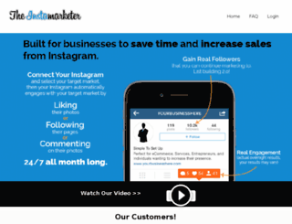 theinstamarketer.com screenshot
