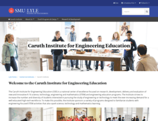 theinstitute.smu.edu screenshot